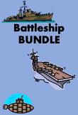 Battaglia navale Battleship games in Italian Bundle