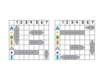 Battleship shapes