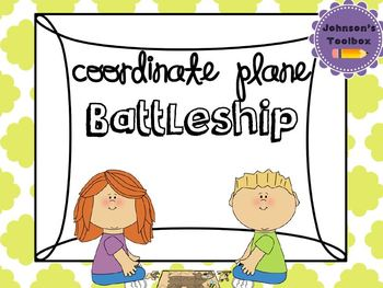 Battleship using Coordinate Plane