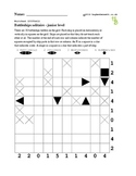 Battleships junior puzzle - 50 worksheets - Pack 1