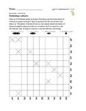 Battleships puzzle - 50 worksheets - Pack 1