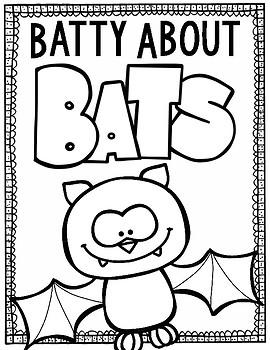 Batty About Bats: Bats Research Book With QR Codes
