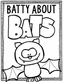 Batty About Bats: Bats Research Book With QR Codes