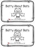 Batty About Bats Emergent Reader