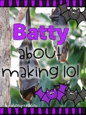 Batty About Making 10--How many more?-Counting On