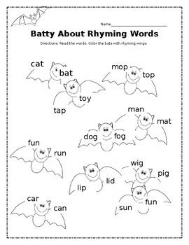 Batty About Rhyming