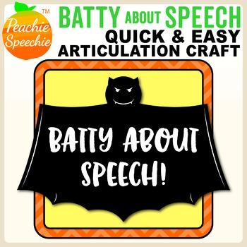 Batty About Speech -  R sound Free Sample