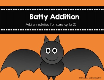 Batty Addition - With Sums to 20