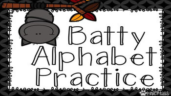 Batty Alphabet Practice