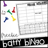 Batty BINGO (freebie!)