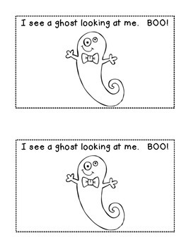 Batty Bat, Batty Bat, What Do You See?  Halloween Fun Emergent Reader