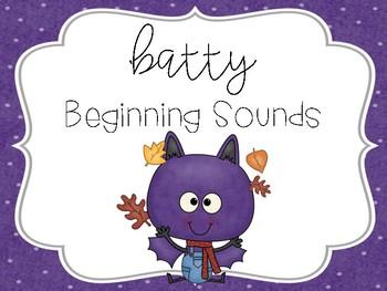 Batty Beginning Sounds