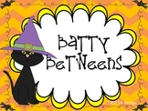Batty Betweens- A Halloween themed number order game for gr. k-2