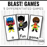 Batman Phonics Game
