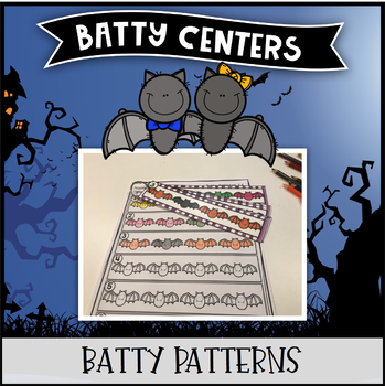 Batty Centers ~ Bat Patterns