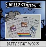 Batty Centers ~ Sight Words