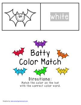 Batty Color Match FREEBIE