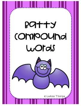 Batty Compound Words