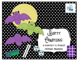 Batty Equations: A Craftivity to practice modeling equations