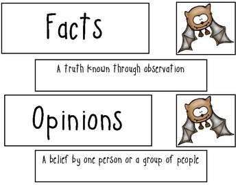 Batty Facts & Opinions
