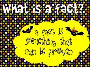 Batty Facts & Opinions Flipchart
