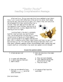 Batty Facts- Reading Comprehension Passage and Questions