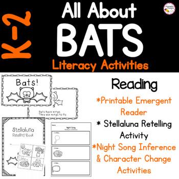 Batty For Bats- Literacy Activities