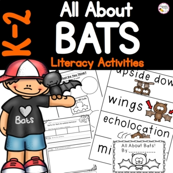 Kindergarten and First Grade Bat Literacy Activities