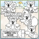 Batty For Candy - CU Clip Art & B&W Set