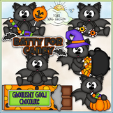 Batty For Candy - CU Clip Art & B&W Set