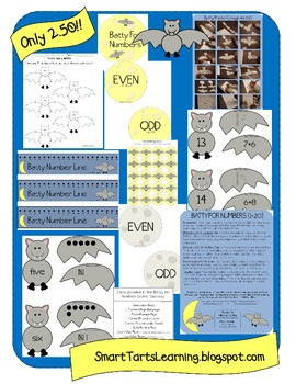 Batty For Numbers {1-20 Color}