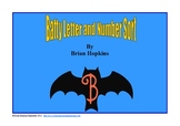 Bat Letter and Number Sort FREE