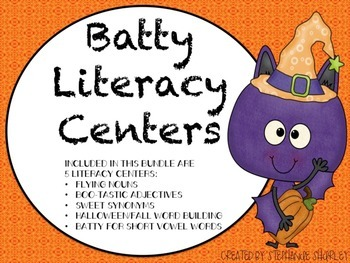 Halloween / Fall Literacy Centers
