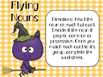 Halloween / Fall Literacy Centers
