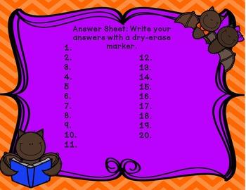 Batty Multiplication: 2 Digit by 1 Digit Multiplication Task Card Center