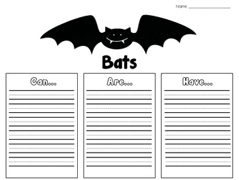 Batty Over Bats: A Cross-Curricular Unit on Bats
