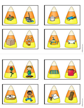 Halloween Math and Literacy Centers for Pre-K and Kindergarten