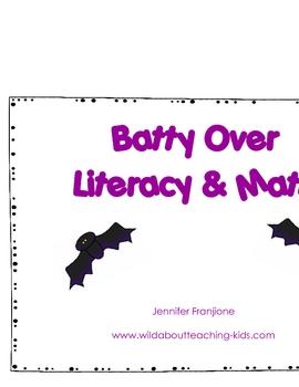 Batty Over Math & Literacy