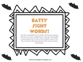Batty Sight Words