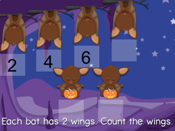 Batty Skip Counting (Great for Google Classroom!)