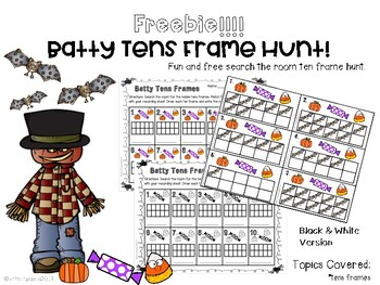 Batty Tens Frame hunt