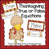 Turkey True/False Equations