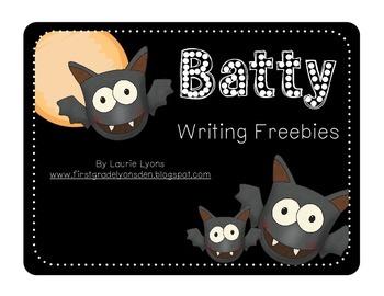 Batty Writing FREEBIES