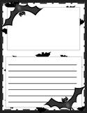 Batty about Writing Bat Writing Paper