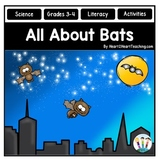 Fall Activities: All About Bats Literacy Unit for Grades 3-4