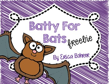 Batty for Bats Freebie File