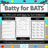 Batty for Bats: Integrated Math, Science, and Language Arts Unit