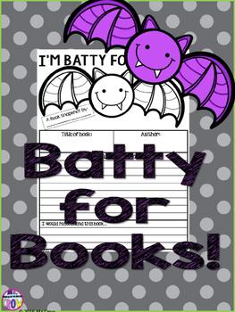 Batty for Books FREEBIE