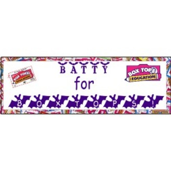 Batty for Boxtops Banner
