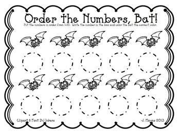 Batty for Centers {Math & Literacy MINI unit}